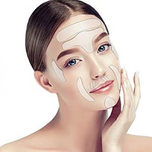 16 Pieces now 75.0% off ,Face wrinkle Patches, Reusable Anti-Wrinkle Pads for Face, Smooth Skin an..