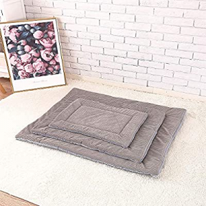 Pet mats Thickened Warm Dog Blankets Four Seasons Available cat mats Dog mats (L, Grey) now 30.0% ..