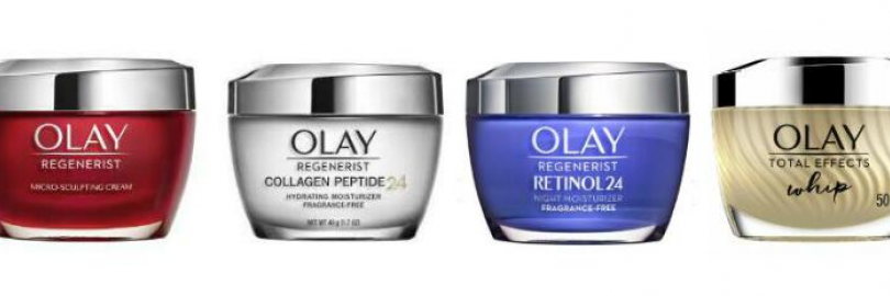Olay Regenerist vs. Collagen Peptide vs. Retinol 24 vs. Total Effects: Which is Best for You?