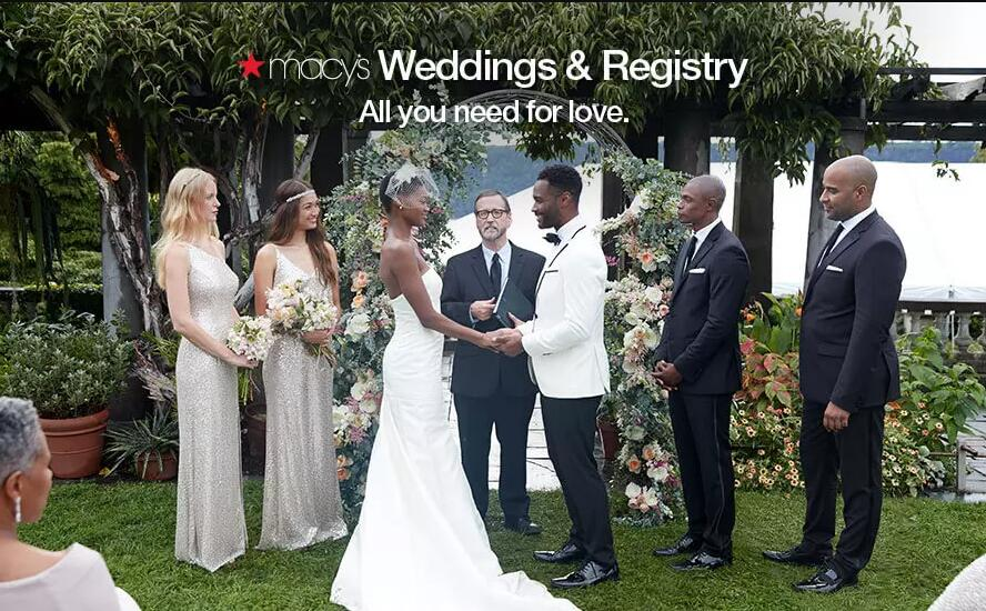 Get Everything You Need For Wedding With Macy's