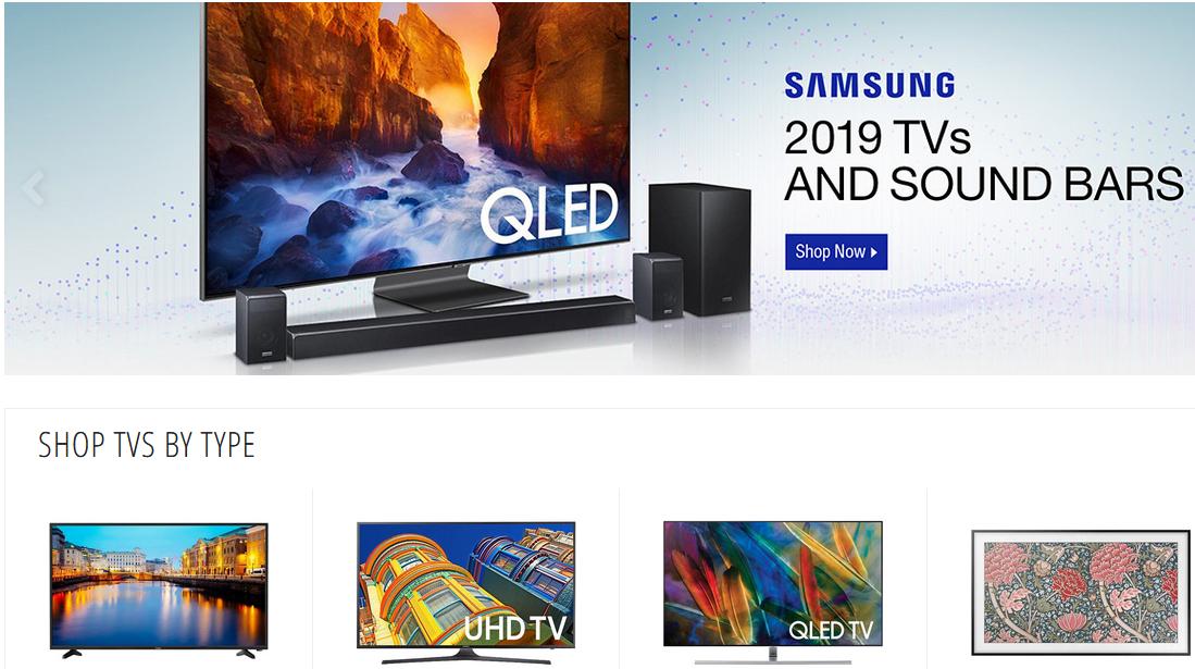 七个海淘电视机的网站(附优惠码+4%返利)- 索尼、三星便宜购!