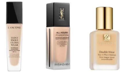 Review: Lancome Teint Idole vs. Estee Lauder Double Wear vs. YSL All Hours: Which Foundation is Best for You?