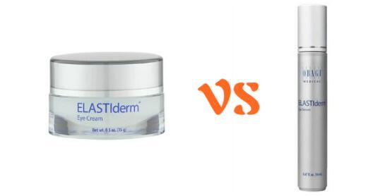 Obagi ELASTIderm Eye Cream vs. Eye Serum: Ingredients/Differences/Reviews